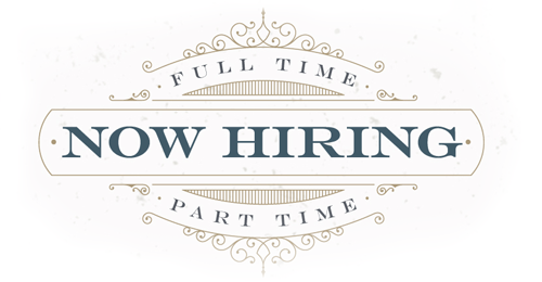 Now hiring at Good Graces Tattoo